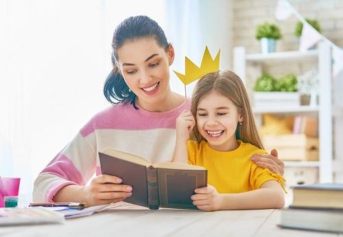 bajki po angielsku - czytanie z mamą